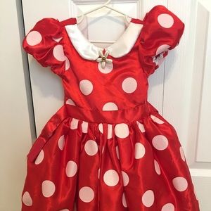 Size 3 Minnie Mouse costume